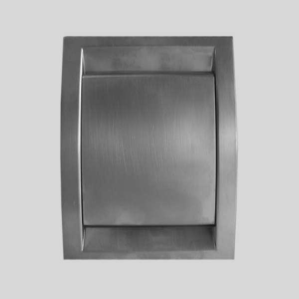Premier Polished Steel Inlet Valve