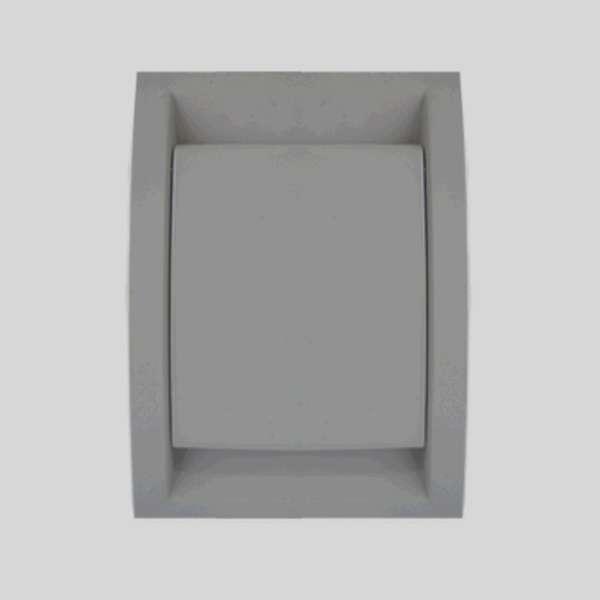 Elegance Light Gray Inlet Valve