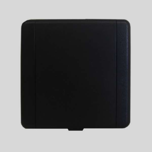 European PVC Black Inlet Valve