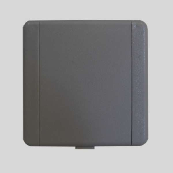 European PVC Dark Gray Inlet Valve