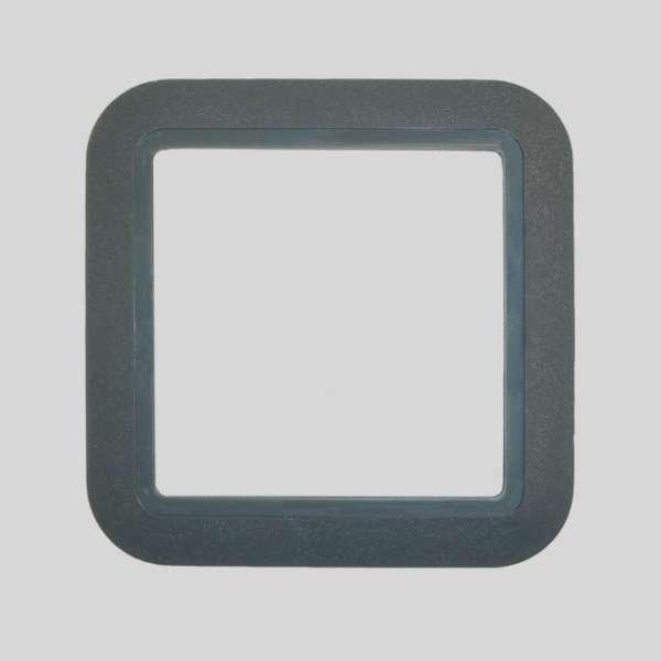 European PVC Dark Gray Plate